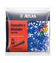 Nivelador para Piso 1MM com 100 Unidades AT50/1 Atlas -
