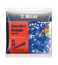 Nivelador Para Piso 2mm com 10 Unidades At502/2 Atlas -