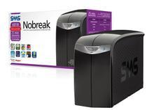 Nobreak interactive sms 27395 station ii 600va entrada bivolt e saída 115v 4 tomadas -
