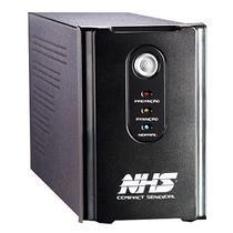 Nobreak NHS Compact Senoidal xxxx-y 1000VA c/ 2 Baterias Seladas 7Ah/S. 220V/Preto -