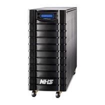 Nobreak NHS Laser Senoidal 5000VA E.Bivolt S.120V Bat 12x9Ah/144V Engate +RS232 8 tomadas -