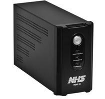Nobreak NHS Mini III 600VA/300W Mono Preto (E.120V / S.120V / Selada 1 x 7Ah) -