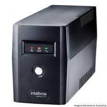 Nobreak xnb 600va 220v 4 tomadas preto - intelbras -