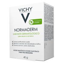 Normaderm Sabonete Dermatológico Vichy - Limpador Facial -
