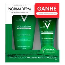 Normaderm Vichy Gel de Limpeza Profunda Facial 150g e Ganhe Gel Limpeza Profunda 40g -