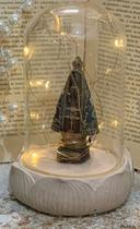 Nossa Senhora Aparecida na Cúpula De Resina Decorativa - Ef
