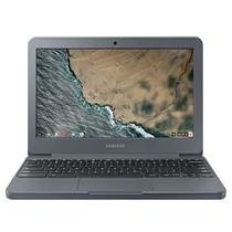 "Notebook 11.6"" Chromebook Celeron N3060, 4GB, 32GB, Google Chrome OS - Grafite - XE501C13-AD3BR  SAMSUNG -"