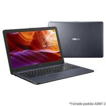 "Notebook 15.6"" vivobook celeron n4020/4gb/500gb/win10 cinza x543ma-dm1317t  asus -"