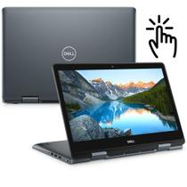 "Notebook 2 em 1 Dell Inspiron i14-5481-A30S 8ª Geração Intel Core i7 8GB 1TB LED 14"" HD Touch Windows 10 McAfee Prata Ga -"