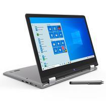 Notebook 2 em 1 Positivo 4GB 64GB Full HD 12 Pol Win10 C464C -