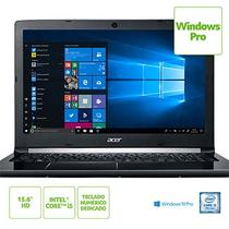 Notebook acer 15,6 led a515-51-58dg / i5-7200u / 4gb / 1tb / w10 pro