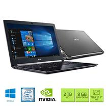Notebook Acer 15,6 LED A515-51G-50W8 I5-7200U 8GB 2TB W10 SL GEFORCE 940MX 2GB