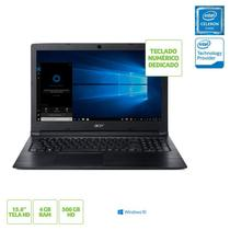 Notebook Acer A315-33-C39F Intel Dual Core N3060 4GB 500GB 15,6