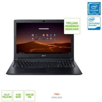Notebook Acer A315-33-C58D Intel Dual Core N3060 4GB 500GB 15,6