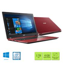 Notebook Acer A315-51-5796 Intel Core i5 4GB RAM HD 1TB 15.6