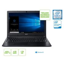 Notebook Acer A315-53-55DD Intel Core i5-7200u 4G 1TB 15,6