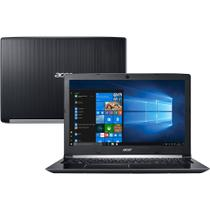 Notebook Acer A515-51-55QD, Tela 15,6, Intel Core-i5, HD 1TB, 4GB RAM com Windows 10 Home