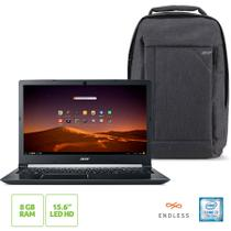 Notebook Acer A515-51-74ZA Intel Core I7 8GB 2TB 15.6