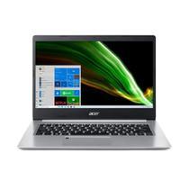 Notebook Acer Aspire 5 14 HD I3-1005G1 128GB SSD 4GB Prata Win 10 Home A514-53-31PN -