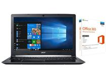 "Notebook Acer Aspire 5 A515-51-51UX Intel Core i5 - 8GB 1TB LED 15,6"" + Microsoft Office 365 Personal"
