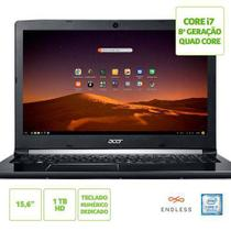 Notebook Acer Aspire 5 A515-51-C0ZG Core i7-8550U 8GB HD 1TB Tela de 15.6'' HD Linux (Endeless OS)