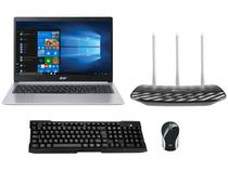 Notebook Acer Aspire 5 A515-54-587L Intel Core i5 - Quad-Core 8GB + Mini Mouse + Teclado + Roteador