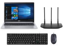 Notebook Acer Aspire 5 A515-54-587L Intel Core i5 - Quad-Core 8GB + Mouse + Teclado + Roteador