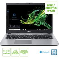 Notebook Acer Aspire 5 i5-8265U 8GB RAM 128GB SSD + 1TB HD Tela 15.6'' Windows 10 - A515-52-56A8