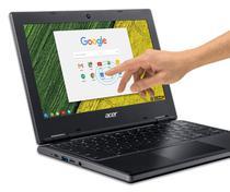 "Notebook Acer Dual Core Chromebook R721T-488H 11,6"" Amd A-Series 4GB 32GB Chrome Os Preto -"