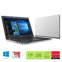 Notebook Acer E5-553G-T4TJ AMD A10 2,4Ghz 4GB RAM 1TB HD AMD Radeon R7 M440 de 2GB 15.6