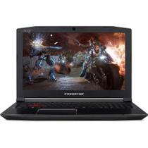 Notebook Acer Gaming Predator PH315-51-71FS I7-8750H 2.2GHz 8GB 1TB VGA GTX 1060 6GB