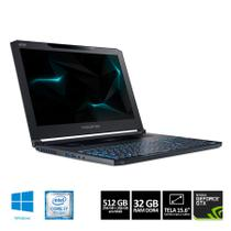Notebook Acer Predator Triton 700 PT715-51-77DD Core i7 32GB 512GB SSD GTX 1080 8GB Windows 10 15,6
