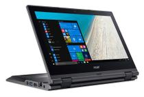 Notebook Acer TravelMate Spin B TMB118-RN-C0A9 Celeron N3450 4GB RAM 128GB SSD Tela 11.6'' Full HD Touch Screen Win 10 Pro