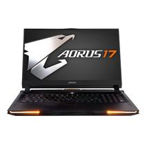 """NOTEBOOK AORUS GAMER 17.3"""" i7 9TH GERAÇÃO 16GB RAM SSD512GB WINDOWS10 PLACA DE VÍDEOGTX1660GDDR6 6GB -"""