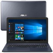 "Notebook Asus Dual Core 4GB 500HD Tela 15,6"" Webcam e Microfone -"