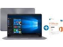 "Notebook Asus Vivobook  X510UA Intel Core i5 4GB - 1TB LED 15,6"" + Microsoft Office 365 Personal 1TB"