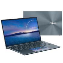 "Notebook Asus ZenBook 14, Intel Core  i7 1165G7 Iris Xe,8GB,512GB SSD,Tela 14"",Segunda Tela ScreenPad 2.0,UX435EA-A5072T -"