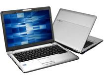 Notebook c/ Intel  Celeron 2.16GHz - 3GB 320GB LCD 14,1 Grava DVD Webcam