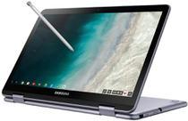 Notebook Chromebook Samsung SS Plus 2 em 1 4GB RAM 32GB SSD OS Tela Full HD 12.2 - Prata -