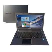 "Notebook Compaq Dual Core 4GB 500GB Tela 14"" Windows 10 Presario CQ23"