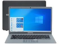 """Notebook Compaq Presario CQ-25 Intel Pentium 4GB - 120GB SSD 14"""" LED Windows 10"""
