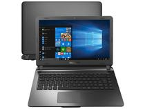 "Notebook Compaq Presario CQ-32 Intel Pentium N3700 - 4GB 120GB SSD 14"" LED Windows 10"