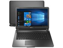 "Notebook Compaq Presario CQ-32 Intel Pentium N3700 - 4GB 120GB SSD 14"" Windows 10"