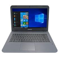"Notebook Compaq Presario CQ15 Intel Celeron 4GB 500GB Tela 14"" Windows 10 Preto -"