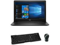 "Notebook Dell i15-3583-FS1P Intel Core i5 8GB  - 256GB SSD 15,6"" HD + Mini Mouse sem Fio + Teclado"
