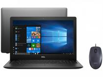 "Notebook Dell i15-3583-FS1P Intel Core i5 8GB - 256GB SSD 15,6"" HD + Mouse Logitech Laser 1000DPI"