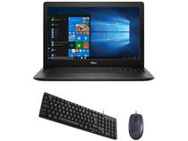 "Notebook Dell i15-3583-FS1P Intel Core i5 8GB - 256GB SSD 15,6"" HD + Mouse Logitech + Teclado"