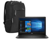 "Notebook Dell i15-3583-FS1P Intel Core i5 8GB - 256GB SSD 15,6"" HD Windows 10 + Mochila Targus"
