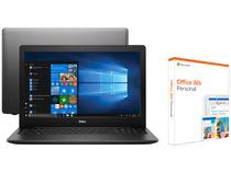 "Notebook Dell i15-3583-FS1P Intel Core i5 8GB - 256GB SSD 15,6""HD Windows 10 + Office 365 Personal"