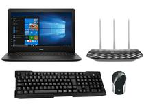 "Notebook Dell i15-3583-FS1P Intel Core i5 8GB - 256GB SSD 15,6""+ Mini Mouse + Teclado + Roteador"